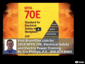 NFPA70E 2018 Update video by Jim Phillips