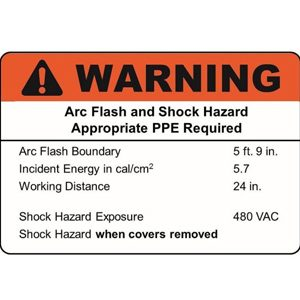 Arc Flash Labeling Requirments