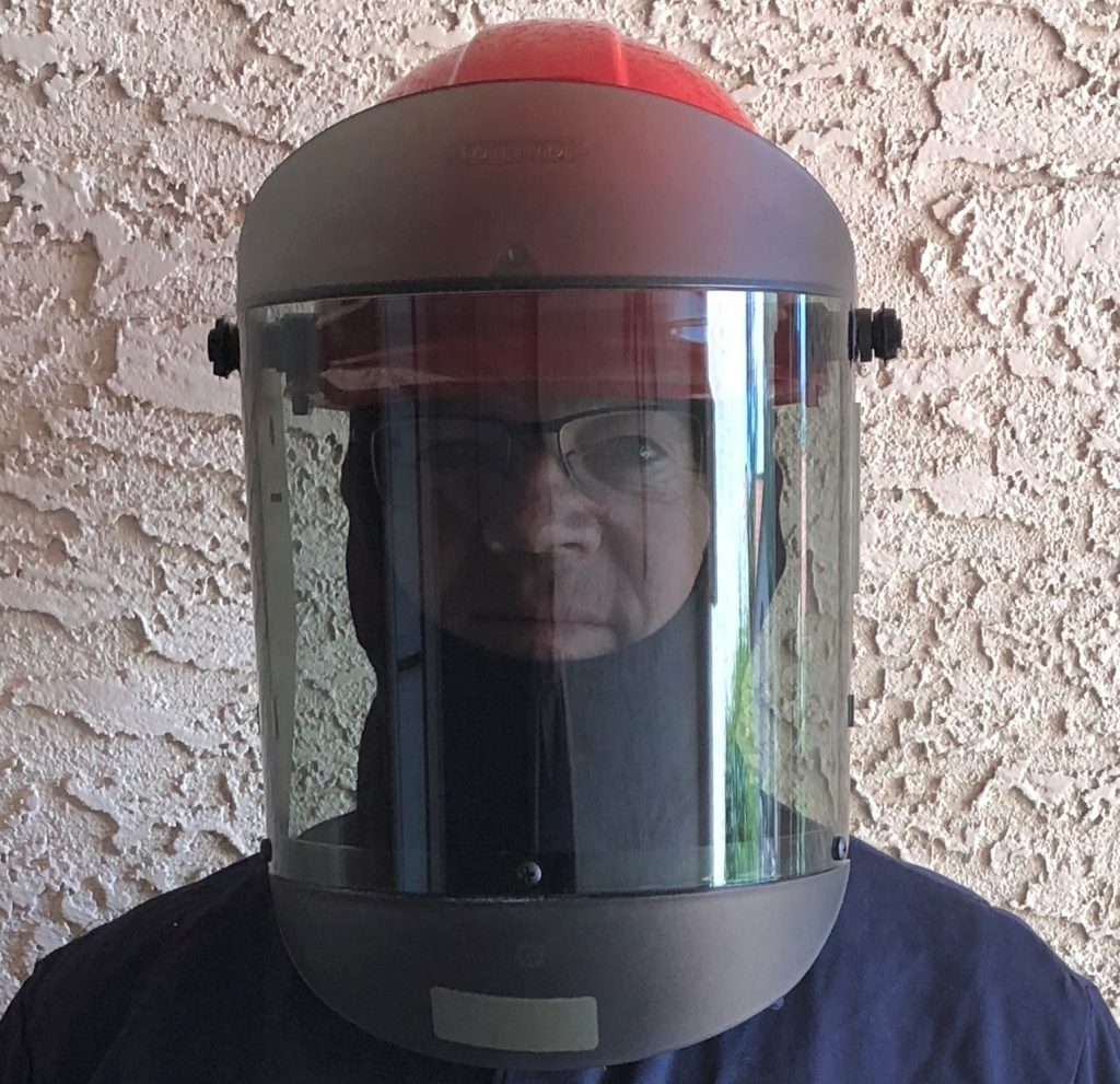 Hood and Face Shield